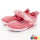 IFME健康機能鞋 蝴蝶結排水款 NI02001粉紅(中小童段)
