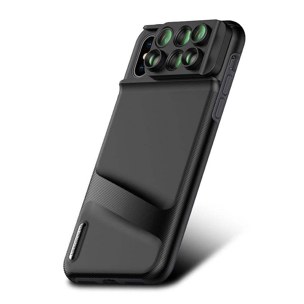 iStyle iPhoneXS Max 6.5吋 六合一雙鏡頭手機殼