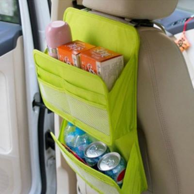 E.City_車用多功能椅背雙層收納掛袋