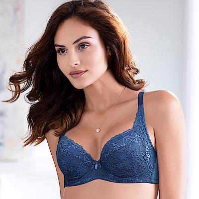 黛安芬-超值美選包覆B-E罩杯內衣(沉靜藍)