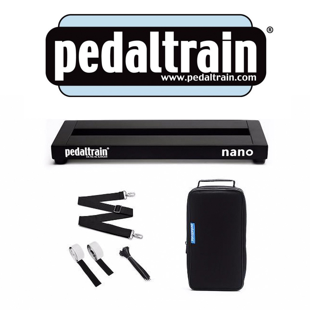 PEDALTRAIN Nano NPL-SC 效果器板+軟袋