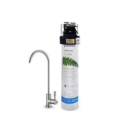 水蘋果公司貨 EVERPURE QL3-S104 單道淨水器
