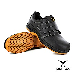 PAMAX 帕瑪斯【頂級專利抗菌氣墊、反光、防穿刺止滑安全鞋】鋼頭防滑工作鞋