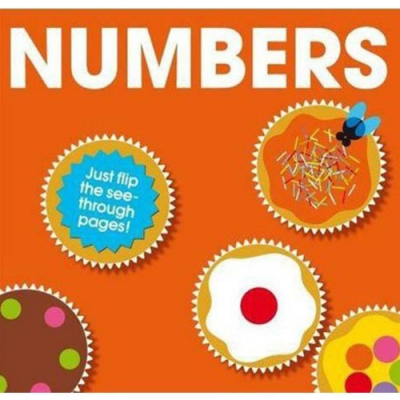 Numbers 數字精裝膠片書