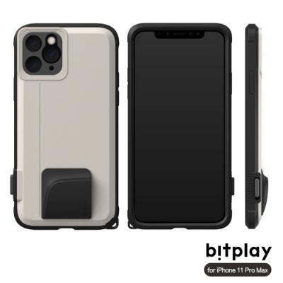 bitplay SNAP! iPhone 11 Pro Max (6.5吋)專用 喀擦一鍵即拍相機快門鍵全包覆軍規防摔相機殼-沙