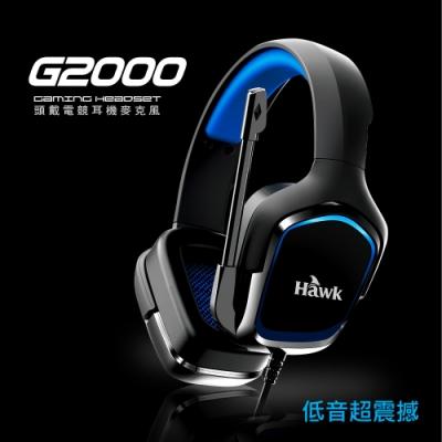 Hawk 頭戴電競耳機麥克風 (03-HGE2000)