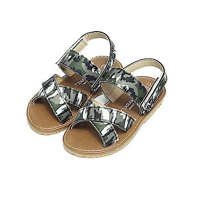 BuyGlasses 簡約夏日兒童涼鞋-迷彩