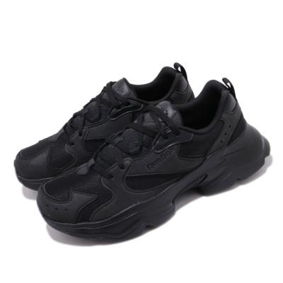 Reebok 休閒鞋 Royal Aadorun 運動 男女鞋 經典款 老爹鞋 厚底 舒適 情侶穿搭 全黑 FW6352