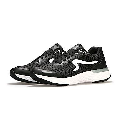 【ZEPRO】男子Q-RUN FEELING系列氫氣槽科技慢跑鞋-酷黑