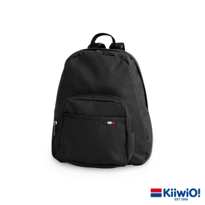 Kiiwi O! 極輕尼龍系列 休閒後背包 JEWEL 黑