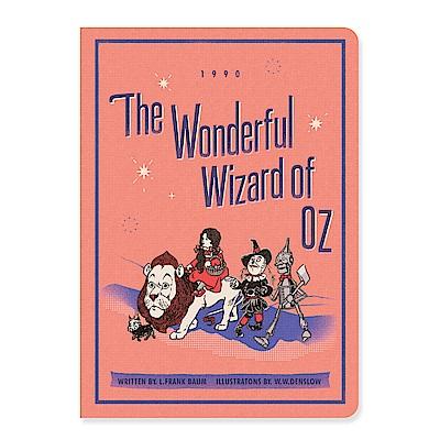 7321 Design 魔幻系列-桃樂絲橫線筆記本M-OZ粉