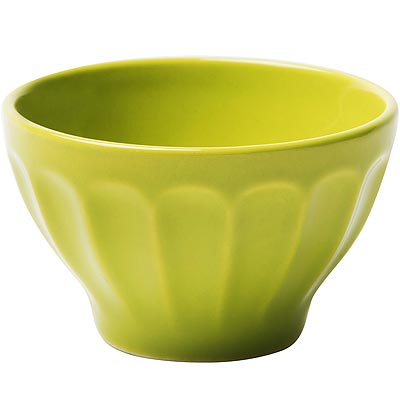 《EXCELSA》直紋餐碗(綠10cm)
