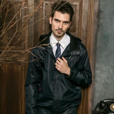 Valentino Rudy范倫鐵諾.路迪 防水透氣連帽機能薄外套-丈藍