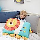 Milo&Gabby 動物好朋友-超細纖維防蹣大枕心+枕套組(LONNIE小獅王)