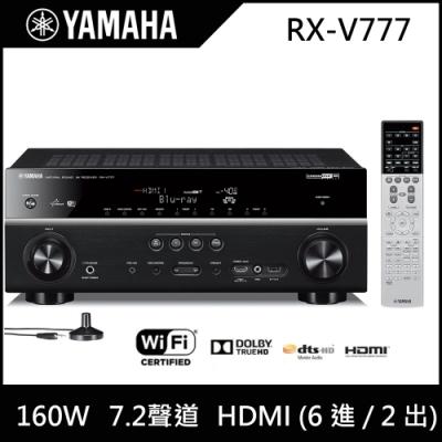 【福利品】YAMAHA山葉 7.2 聲道 AV擴大機 RX-V777