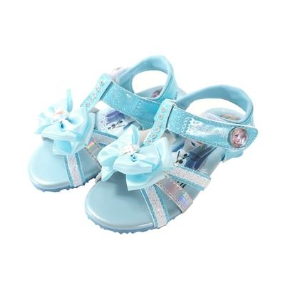 魔法Baby  女童鞋 台灣製冰雪奇緣正版小淑女低跟涼鞋 sa14146