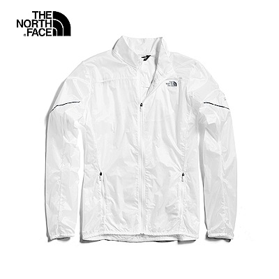 The North Face北面女款白色風衣外套|3O1EFN4