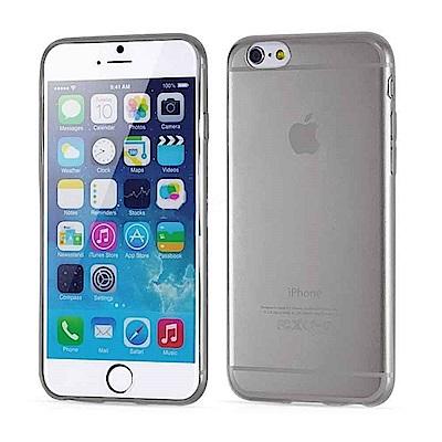 iPhone 6/6S 4.7吋 晶亮清透高質感保護套(透黑)