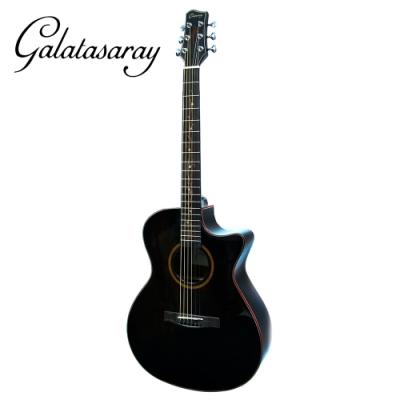 Galatasaray GA10 BK 41吋面單民謠木吉他 黑色款