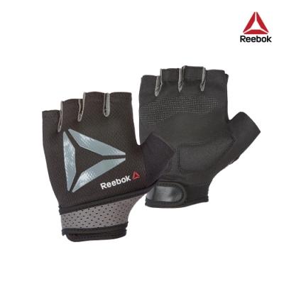 Reebok 防滑短指訓練手套(黑)-共三尺寸
