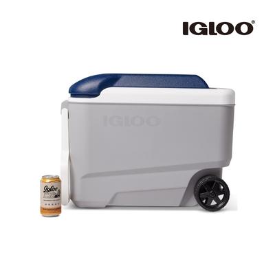 【IGLOO】MAXCOLD 系列五日鮮 40QT 拉桿冰桶 34687