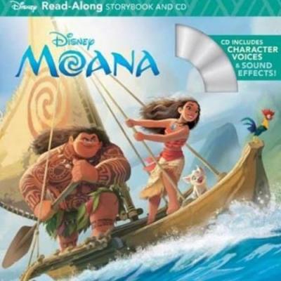 Moana 海洋奇緣有聲讀本(CD一入)