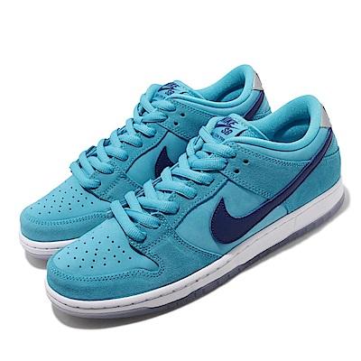 Nike 休閒鞋 SB Dunk 低筒 男鞋 Blue Fury 經典滑板鞋 冰底 藍 白 BQ6817400