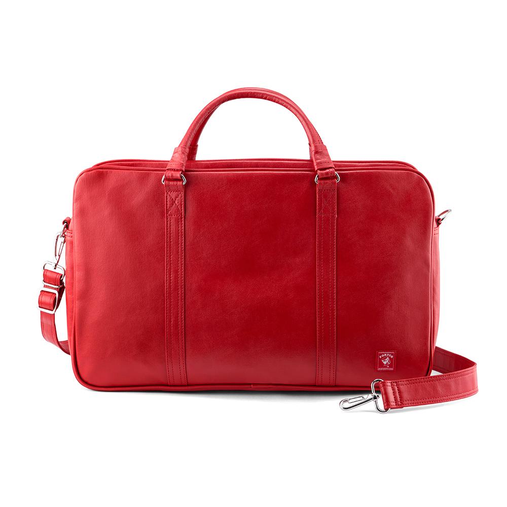PORTER - 時髦復古GLOOM時尚復古公事包 - 紅