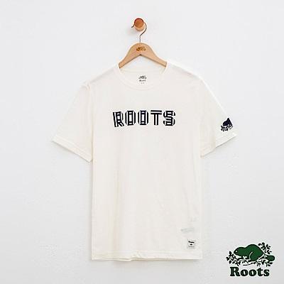 男裝Roots 梅爾福特短袖T恤-白