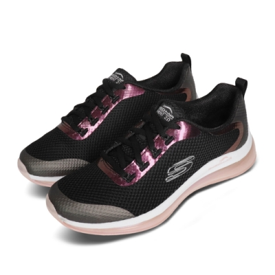 Skechers 慢跑鞋 Skech-Air Element 女鞋 2代 氣墊 避震 緩衝 支撐 輕量 黑 粉 149164BKPK