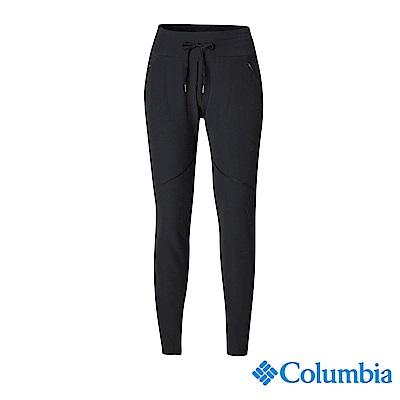 Columbia 哥倫比亞 女款- UPF50防曬長褲-黑色 UAK12050