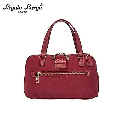 Legato Largo 2WAY兩用手提包-大-酒紅 LH-H1053WI
