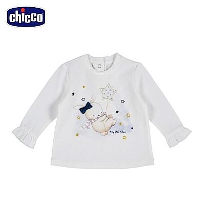 chicco-童話系列-長袖上衣-米(12-24個月)