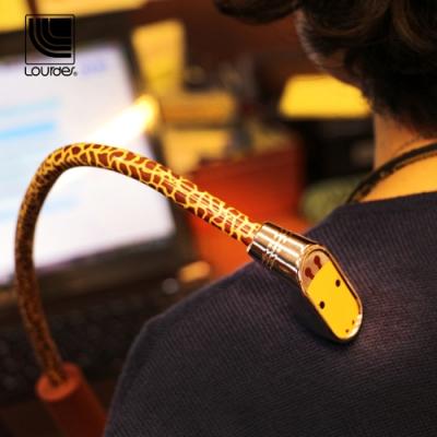 Lourdes長頸鹿圖形肩頸按摩器(黃色)