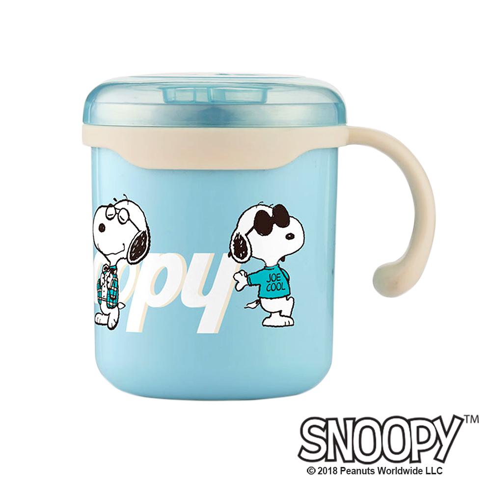 史努比SNOOPY 清漾童樂#304不銹鋼水杯280ml(快)
