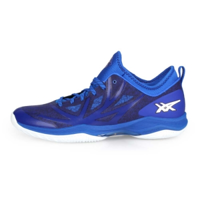 ASICS 男 籃球鞋 GLIDE NOVA FF 藍黑白