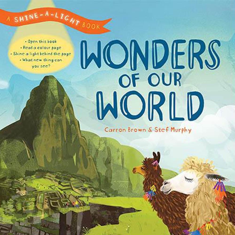 Wonders Of Our World 透光書:認識世界精裝繪本
