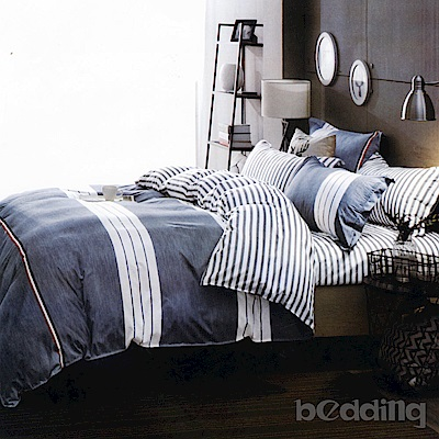 BEDDING-活性印染3.5尺單人薄床包涼被組-初戀