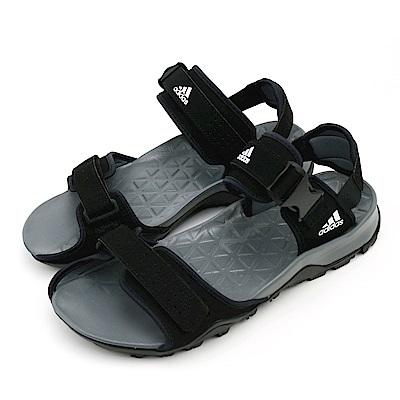 ADIDAS-男涼拖鞋B44191-黑