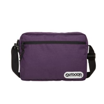 【OUTDOOR】橫式側背包-紫色 OD291103PL