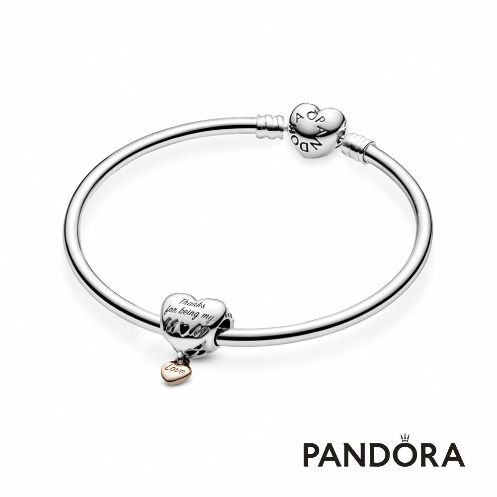 【Pandora官方直營】摯愛之心套組-串飾+手環