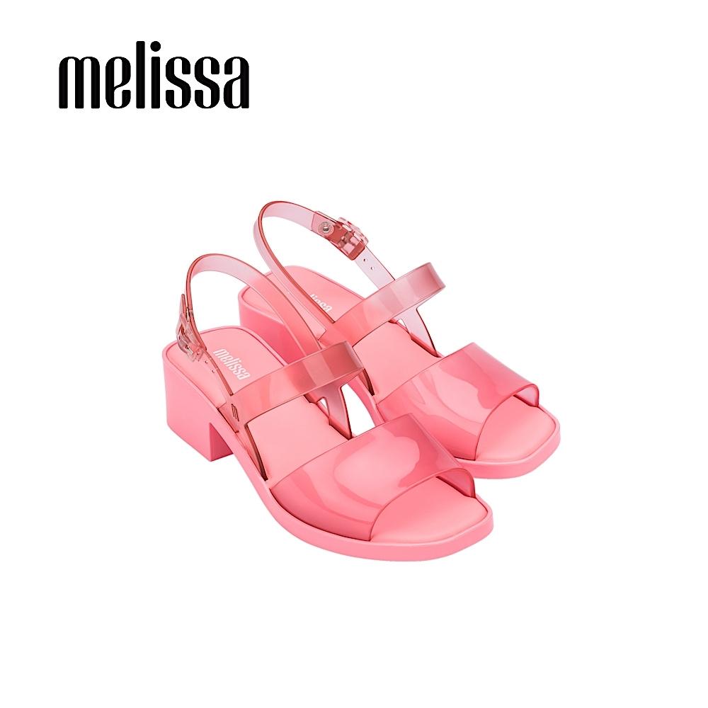 Melissa COSMO 厚底高跟涼鞋-粉