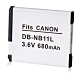 Kamera 鋰電池 for Canon NB-11L (DB-NB11L) product thumbnail 1