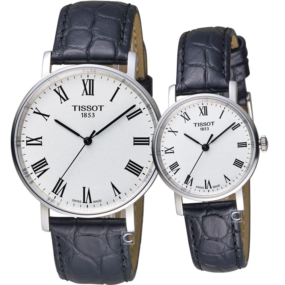 TISSOT天梭Everytime經典時尚對錶-38+31mm @ Y!購物