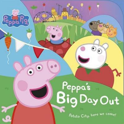 Peppa Pig:Peppa s Big Day Out 佩佩豬的遊玩日精裝硬頁故事書