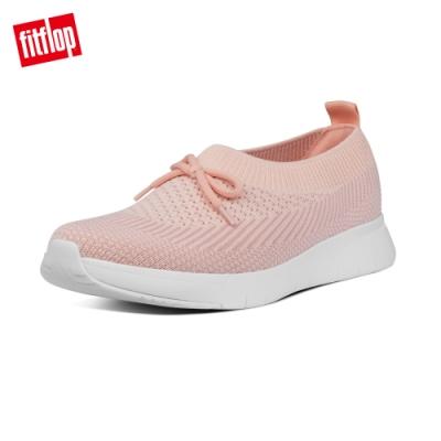 FitFlop ADORA BOW MARBLEKNIT BALLERINAS休閒娃娃鞋-女(珊瑚粉)
