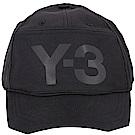 Y-3 Front Back 黑色側截角設計棒球帽(展示品)