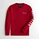 Hollister HCO 長袖 T恤 紅色  1435 product thumbnail 1