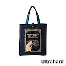 Ultrahard 藏書票閱讀書袋- 福爾摩斯(藍)