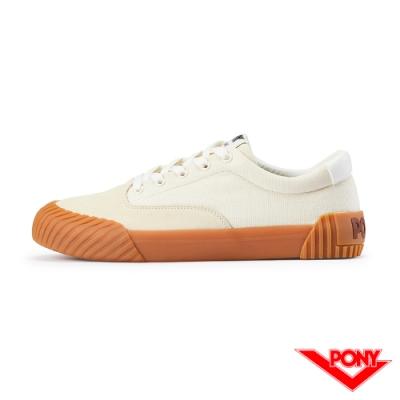 【PONY】SUBWAY2系列滑板鞋-男款-米白色